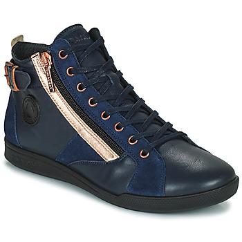 Shoes Women Hi top trainers Pataugas PALME Marine / Pink