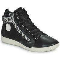 Shoes Women Hi top trainers Pataugas PALME Black