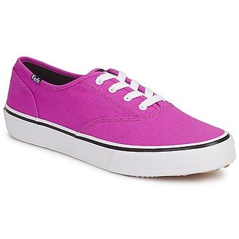 Shoes Women Low top trainers Keds DOUBLE DUTCH SEASONAL SOLIDS PURPLE