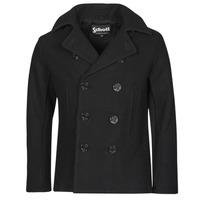 Clothing Men Coats Schott USS 20 Black