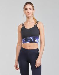 Clothing Women Sport bras adidas Performance WUFORU Black