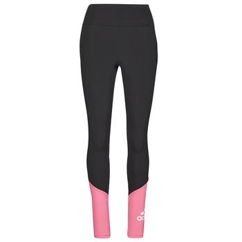 Clothing Women Leggings adidas Performance WEBLETIG Black