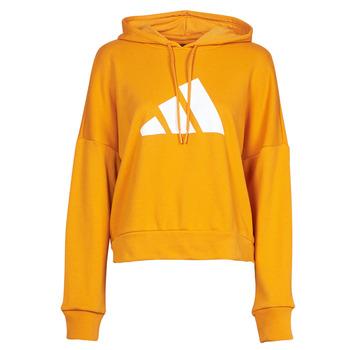 Clothing Women Sweaters adidas Performance WIFIEB HOODIE Orange / Focus