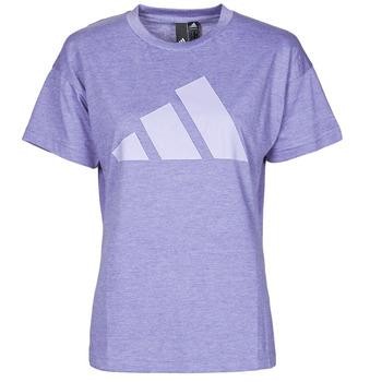 Clothing Women Short-sleeved t-shirts adidas Performance WEWINTEE Purple