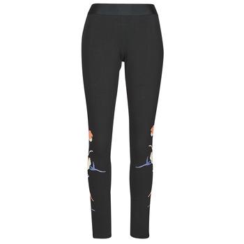 Clothing Women Leggings adidas Performance FLORL GFX TIGHT Black
