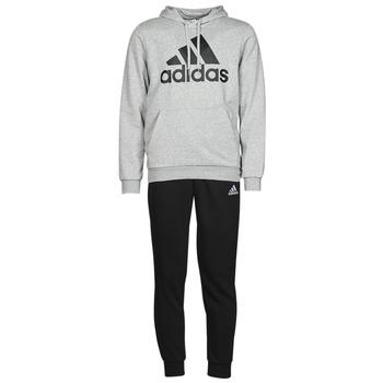 Clothing Men Tracksuits adidas Performance M BL FT HD TS Grey / Medium / Black