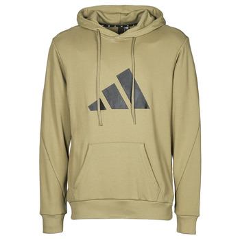 Clothing Men Sweaters adidas Performance M FI 3B HOODIE Green / Orbit
