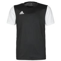 Clothing Men Short-sleeved t-shirts adidas Performance ESTRO 19 JSY Black