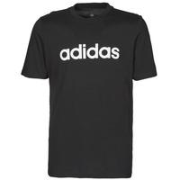 Clothing Men Short-sleeved t-shirts adidas Performance M LIN SJ T Black