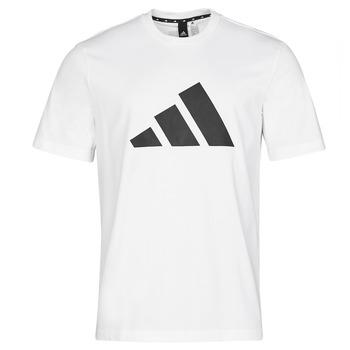 Clothing Men Short-sleeved t-shirts adidas Performance M FI 3B TEE White