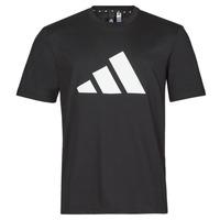 Clothing Men Short-sleeved t-shirts adidas Performance M FI 3B TEE Black