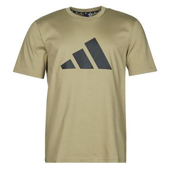 Clothing Men Short-sleeved t-shirts adidas Performance M FI 3B TEE Green / Orbit
