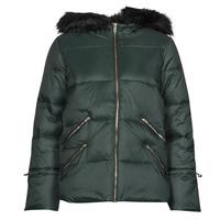 Clothing Women Duffel coats Naf Naf BUGIN Grey / Dark