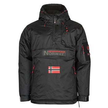 Clothing Men Parkas Geographical Norway BARKER Black