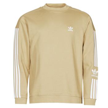 Clothing Men Sweaters adidas Originals LOCK UP CREW Tone / Beige