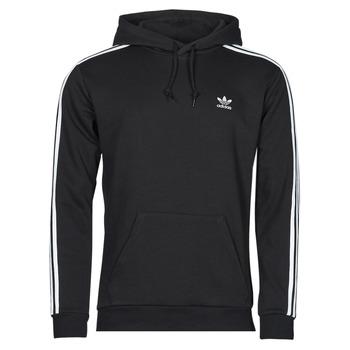 Clothing Men Sweaters adidas Originals 3-STRIPES HOODY Black