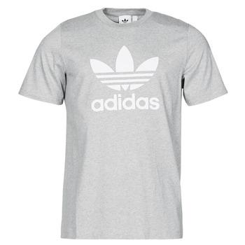 Clothing Men Short-sleeved t-shirts adidas Originals TREFOIL T-SHIRT Grey / Medium