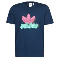 Clothing Men Short-sleeved t-shirts adidas Originals 6 AS TEE Blue / Marine