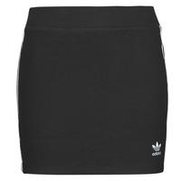 Clothing Women Skirts adidas Originals 3STRIPES SKIRT Black