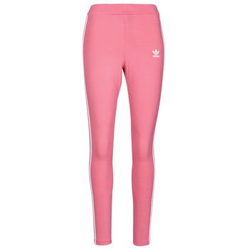 Clothing Women Leggings adidas Originals 4 STRIPES TIGHT Tone / Pink