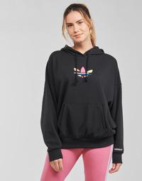 Clothing Women Sweaters adidas Originals HOODIE Black
