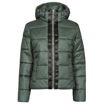 Clothing Women Duffel coats G-Star Raw MEEFIC HDD PDD JACKET WMN Grey / Green