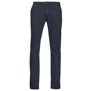 Clothing Men Chinos Le Temps des Cerises JHKURT Blue