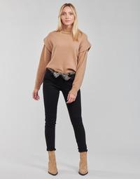 Clothing Women Chinos Le Temps des Cerises LIDY901 Black