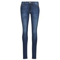 Clothing Women Slim jeans Le Temps des Cerises PULP HIGH OLBIA Blue