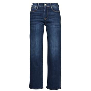 Clothing Women Straight jeans Le Temps des Cerises PULP HIGH WAIST Blue