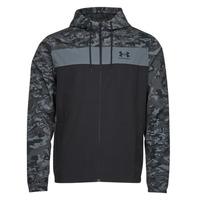 Clothing Men Macs Under Armour UA SPORTSTYLE CAMO WNDBKR Black