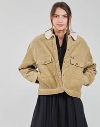 Clothing Women Jackets / Blazers Volcom WEATON JACKET Beige