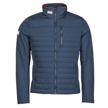 Clothing Men Jackets Helly Hansen CREW INSULATOR JACKET 2.0 Marine