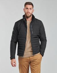 Clothing Men Jackets Helly Hansen CREW INSULATOR JACKET 2.0 Black