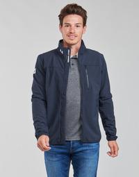 Clothing Men Jackets Helly Hansen CREW SOFTSHELL JACKET 2.1 Marine