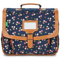 Bags Girl Satchels Tann's ALEXA CARTABLE 35 CM Marine