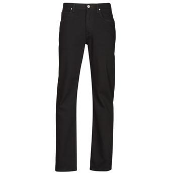 Clothing Men Straight jeans Lee BROOKLYN STRAIGHT Black
