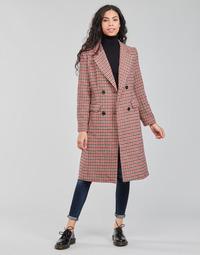 Clothing Women Coats Betty London PIVENE Black / Red