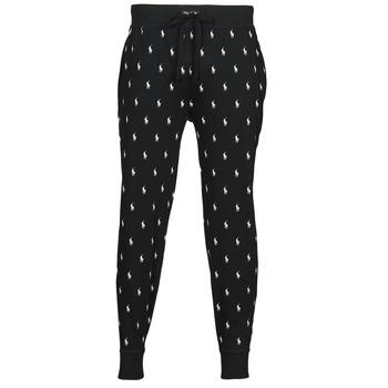 Clothing Men Tracksuit bottoms Polo Ralph Lauren JOGGER PANT SLEEP BOTTOM Black