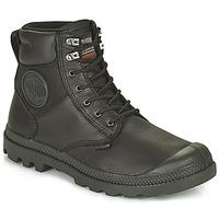 Shoes Mid boots Palladium SPORTCUFF ESSENTIAL WATERPROOF Black