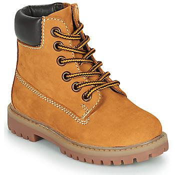 Shoes Children Mid boots Citrouille et Compagnie PACITO Camel
