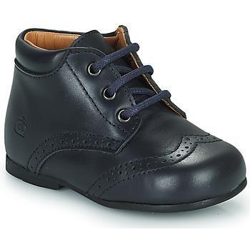 Shoes Children Mid boots Citrouille et Compagnie PAULO Marine