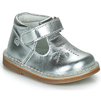 Shoes Girl Flat shoes Citrouille et Compagnie OTAL Silver