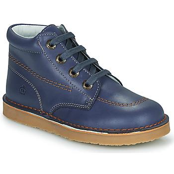 Shoes Boy Mid boots Citrouille et Compagnie PIMON Marine