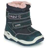 Shoes Girl Snow boots Citrouille et Compagnie POUDOU Blue / Pink