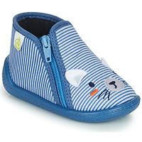 Shoes Boy Slippers Citrouille et Compagnie PASTA Blue