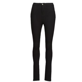 Clothing Women Slim jeans Noisy May NMELLA Black