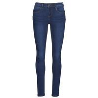 Clothing Women Slim jeans Noisy May NMJEN Blue / Dark