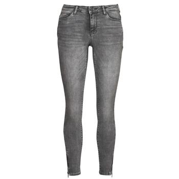 Clothing Women Slim jeans Noisy May NMKIMMY Grey