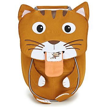 Bags Children Rucksacks Affenzahn CAT Brown